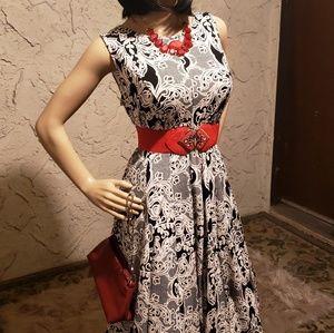 Studio One Dresses - 5 ITEMS! Dress w/accessories